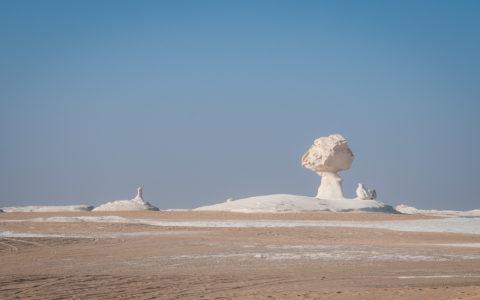Désert blanc, Egypte, 2009