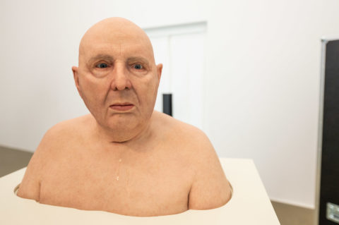Urs Lüthi: Selfportrait